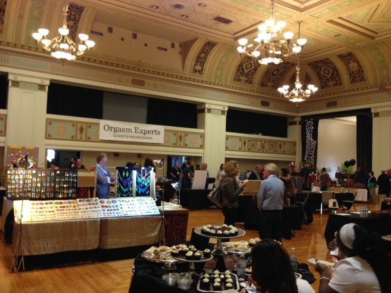The vendors at the 2014 OMX Bazaar.