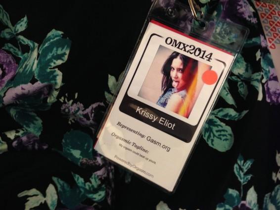 Krissy Eliot's Name Tag