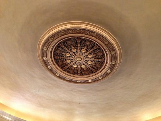 Oakland Scottish Rite Center Ceiling Ornament