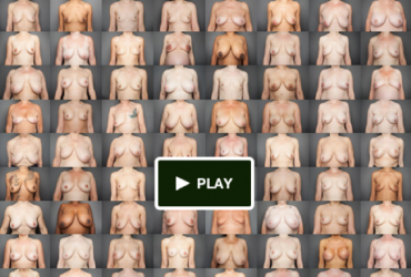 Bare breasts